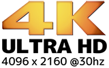 4K ULTRA HD 30hz出力対応